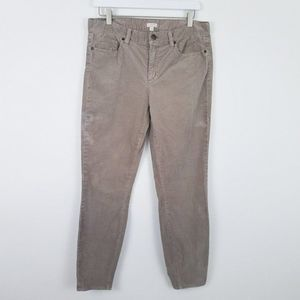J. CREW FACTORY Garment-Dyed Cord Stretch 29 Tan
